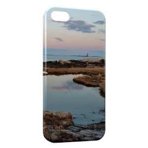 Coque iPhone 5/5S/SE Mer Paysage