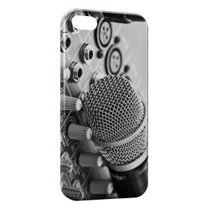 Coque iPhone 5/5S/SE Mic & Music