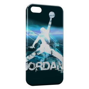 Coque iPhone 5/5S/SE Michael Jordan Basket Graphic Logo