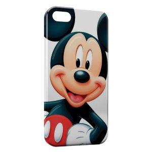 Coque iPhone 5/5S/SE Mickey Rouge