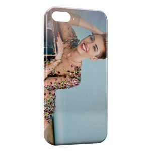 Coque iPhone 5/5S/SE Miley Cyrus