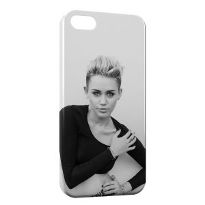 Coque iPhone 5/5S/SE Miley Cyrus 4