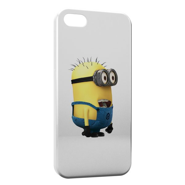 Coque iPhone 55SSE Minion 5 600x600
