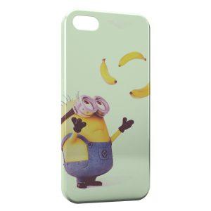 Coque iPhone 5/5S/SE Minion Bananes 3