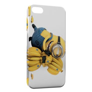 Coque iPhone 5/5S/SE Minion Bananes
