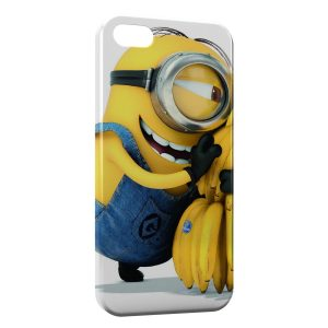 Coque iPhone 5/5S/SE Minion Bananes 4