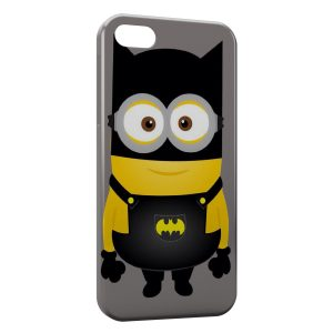 Coque iPhone 5/5S/SE Minion Batman Style