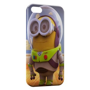 Coque iPhone 5/5S/SE Minion Buzz l'éclair