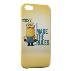 Coque iPhone 5/5S/SE Minion Kevin Make the rules