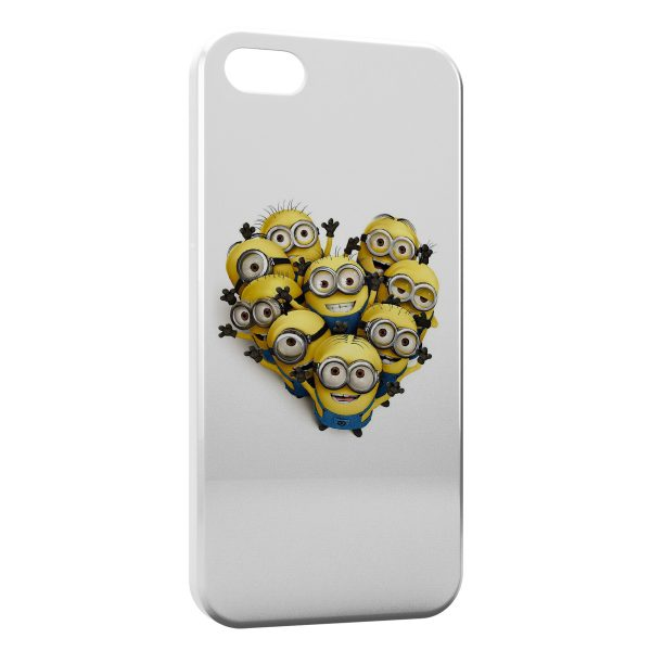 Coque iPhone 55SSE Minions 3 600x600