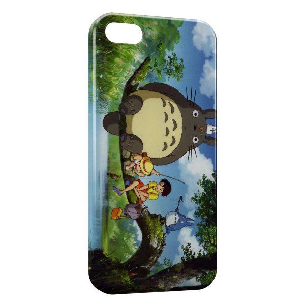Coque iPhone 55SSE Mon voisin Totoro Manga Anime 600x600