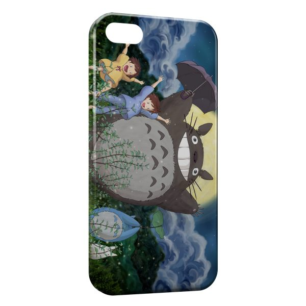 Coque iPhone 5/5S/SE Mon voisin Totoro Manga Anime2