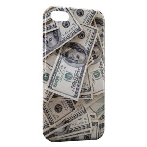 Coque iPhone 5/5S/SE Money Dollars 100