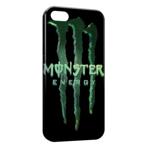Coque iPhone 5/5S/SE Monster Energy 3D Logo