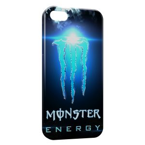 Coque iPhone 5/5S/SE Monster Energy Blue Iced
