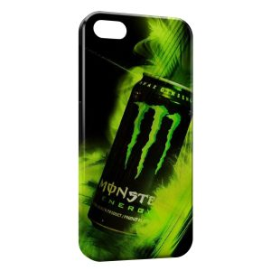 Coque iPhone 5/5S/SE Monster Energy Canette Green