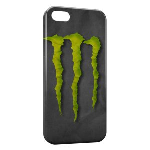 Coque iPhone 5/5S/SE Monster Energy Grey Style