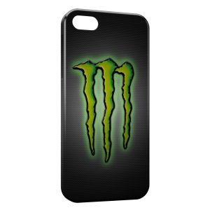 Coque iPhone 5/5S/SE Monster Energy Logo Green
