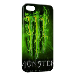 Coque iPhone 5/5S/SE Monster Energy New Green