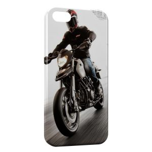 Coque iPhone 5/5S/SE Motard Speed