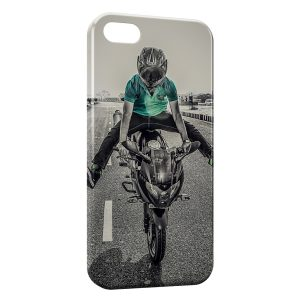 Coque iPhone 5/5S/SE Moto Style