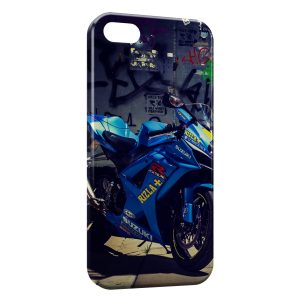 Coque iPhone 5/5S/SE Moto Suzuki 2