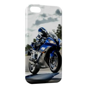 Coque iPhone 5/5S/SE Moto Yamaha 2