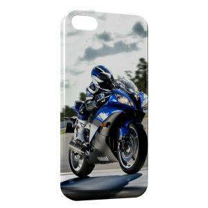 Coque iPhone 5/5S/SE Moto Yamaha 2