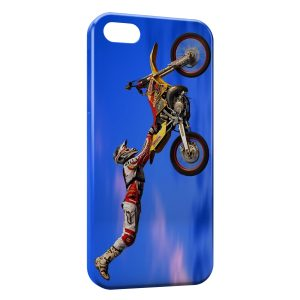 Coque iPhone 5/5S/SE Motocross Figure