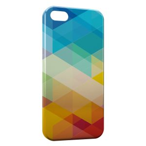 Coque iPhone 5/5S/SE Multicolor 3D Design