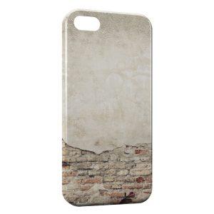 Coque iPhone 5/5S/SE Mur ancien
