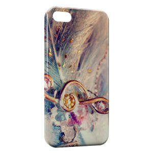 Coque iPhone 5/5S/SE Music Clef