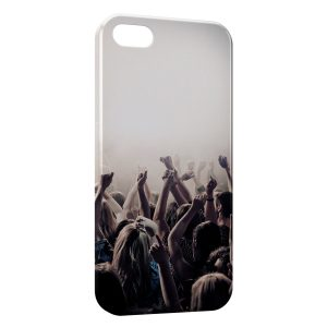 Coque iPhone 5/5S/SE Music Fan