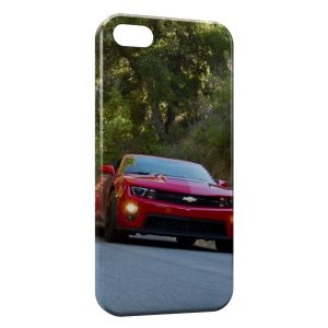 Coque iPhone 5/5S/SE Mustang Voiture