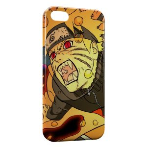 Coque iPhone 5/5S/SE Naruto Uzumaki Art Design