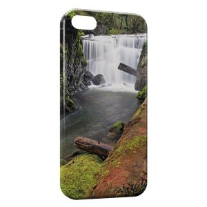 Coque iPhone 5/5S/SE Nature Chutes d'eau 2