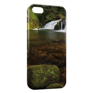 Coque iPhone 5/5S/SE Nature Chutes d'eau