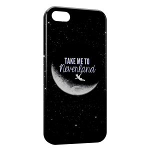 Coque iPhone 5/5S/SE NeverLand Peter Pan