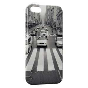 Coque iPhone 5/5S/SE New York City Taxi
