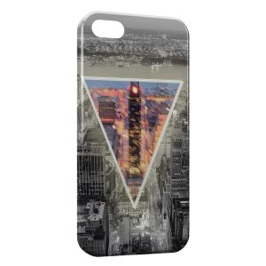 Coque iPhone 5/5S/SE New York Pyramide