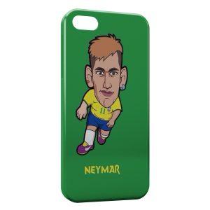 Coque iPhone 5/5S/SE Neymar Football