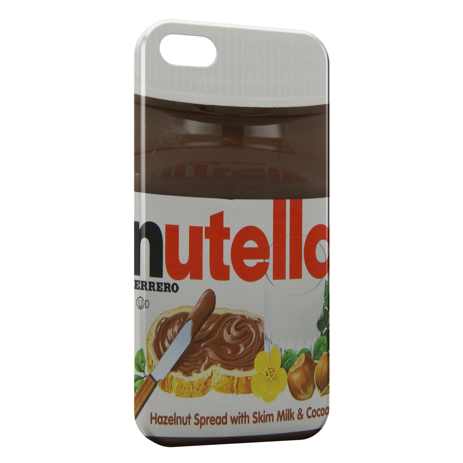 coque iphone 5 nutella 3d
