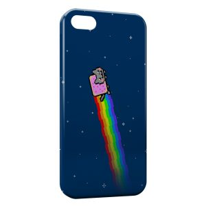 Coque iPhone 5/5S/SE Nyan Cat