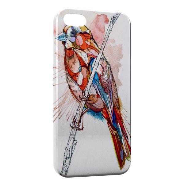 Coque iPhone 5/5S/SE Oiseaux