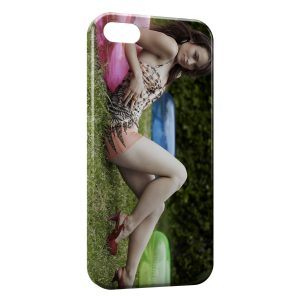 Coque iPhone 5/5S/SE Olivia Wilde 2