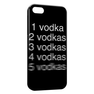 Coque iPhone 5/5S/SE One Vodka Alcool