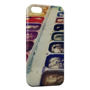 Coque iPhone 5/5S/SE Paint Palette couleurs
