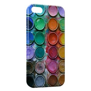 Coque iPhone 5/5S/SE Palette Peinture