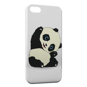 Coque iPhone 5/5S/SE Panda Kawaii Cute