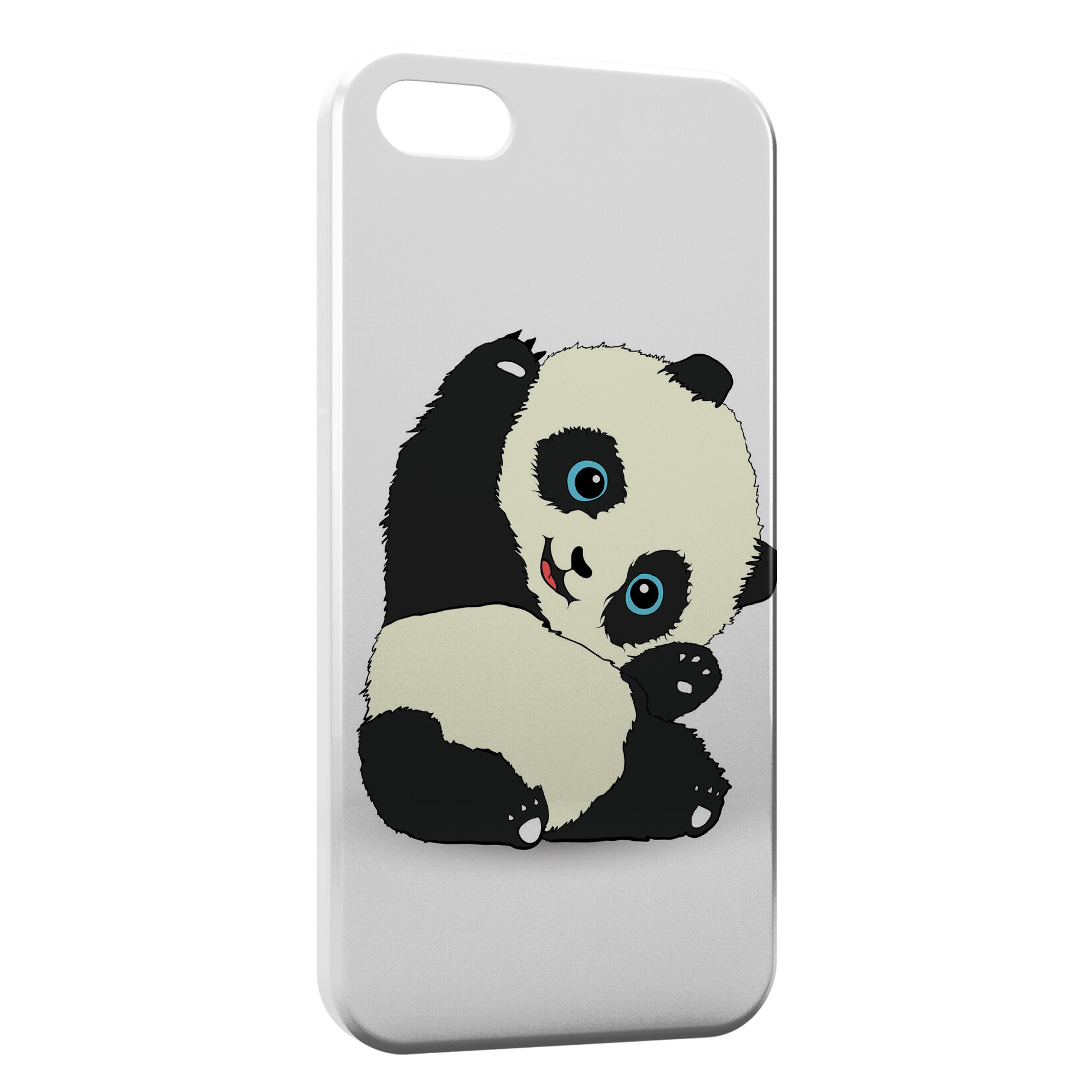 Coque iPhone 5/5S/SE Panda Kawaii Cute